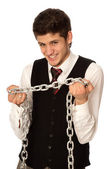 Breaking the chain — Stock Photo