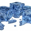 Blue ice — Stock Photo