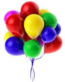Flying balloons — Stock Photo