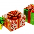 Set of gifts with bows - Photo