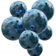 Mirror disco balls — Stock Photo