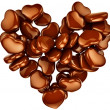 Royalty-Free Stock Photo: Heart shape chocolate as gift for Valentine\'s Day