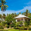 Tropical bungalow - Stock Photo