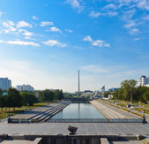 Center of yekaterinburg, Russia — Stock Photo