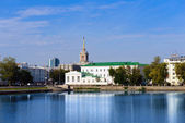 Yekaterinburg cityscape — Stock Photo
