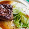 Steak with vegetable — Stock fotografie