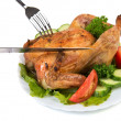 Roasted chiken — Stock Photo