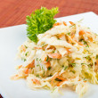 Stock Photo: Coleslaw salad