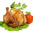 Roasted chicken — Stock Photo #30530323