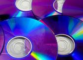 Rainbow DVD — Stock Photo