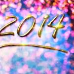 Happy new year 2014 — Stock Photo