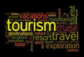 Tourism and travel concept — Stock Photo