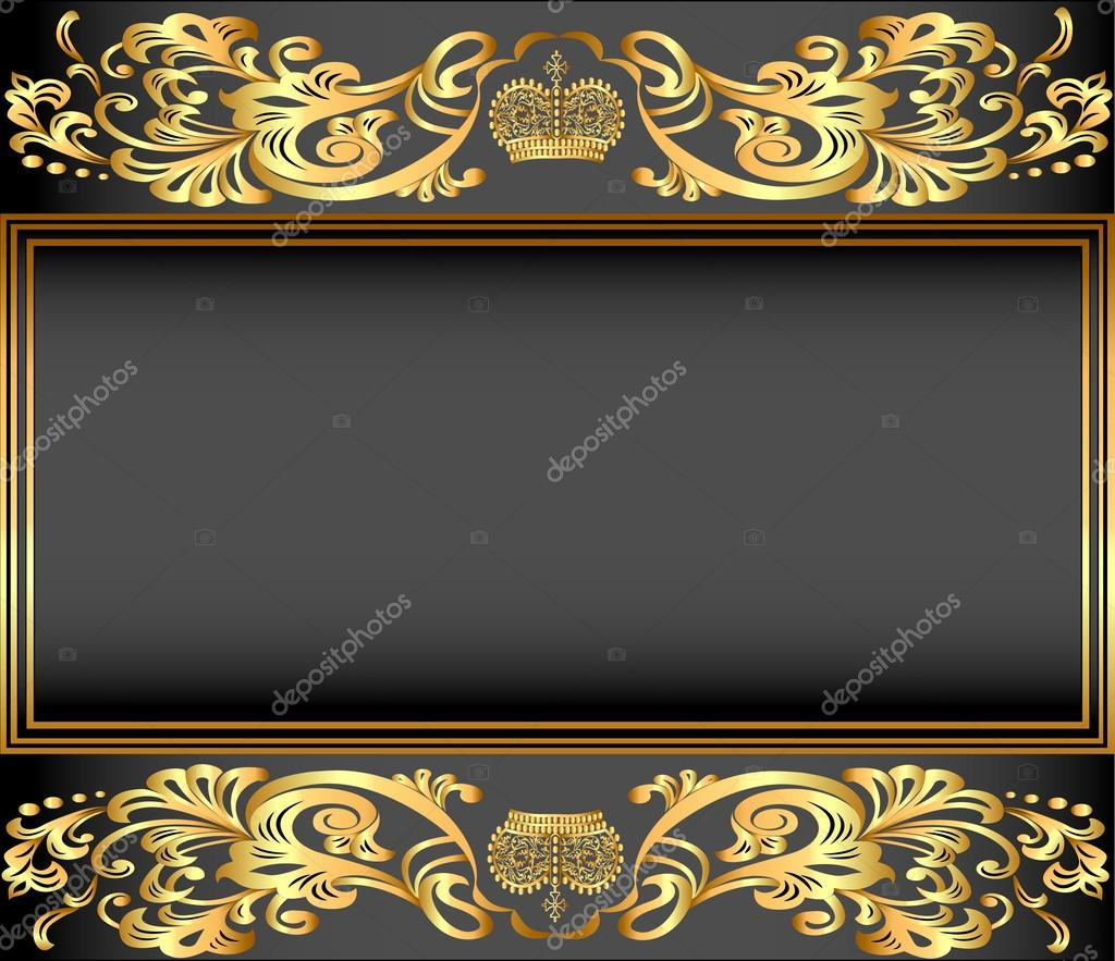Gold crown background - photo#2