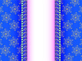 background with a strip of precious stones and ornaments of gol — Vector de stock