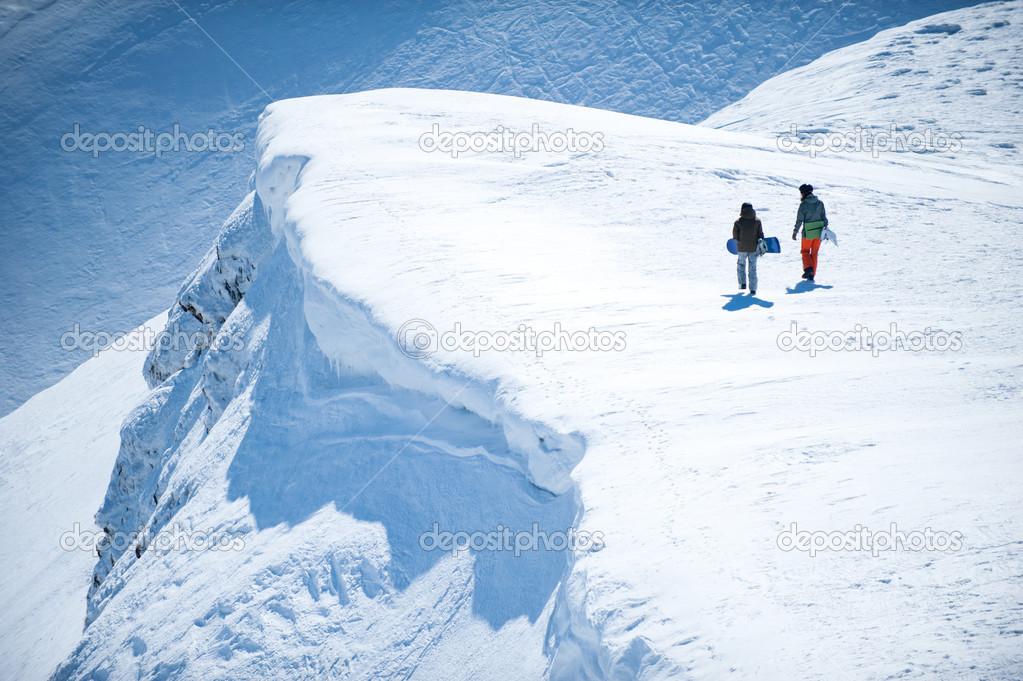 Snowboarding - an extreme passion — Stock Photo #13809537