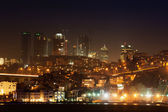 Istanbul nacht stad — Stockfoto