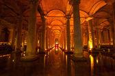 цистерна базилика, стамбул — Стоковое фото