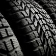 Tire in car service — Stock Photo #27187839