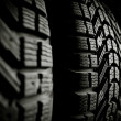 Foto Stock: Rubber Tire
