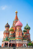 Saint Basil's Cathedral symbol of Moscow — Stock Photo