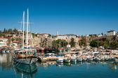 The old Marina of Antalya — Stock Photo