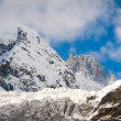 Glacier and high mountains — Stock Photo