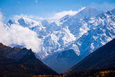 The mountains of the Greater Caucasus from Georgia — Stock Photo