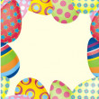 Royalty-Free Stock Vector Image: Easter seamless background