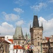 Stok fotoğraf: Stare Mesto (Old Town) view, Prague, Czech Republic