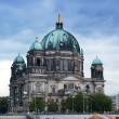 Berlin Cathedral (Berliner Dom) against the evening sky — Stock Photo