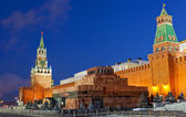 Red Square is the most famous square in Moscow and one of the most famous of the world — Stock Photo