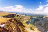 Top view of Karakol lakes in Altai mountains. Altai, Suberia — Stock Photo