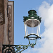 Decorative streetlight against the blue sky — Stock Photo #14080873