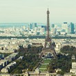 Aerial view of Paris — Stock Photo #14080991