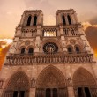 Stock Photo: Notre Dame Cathedral - Paris