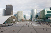 PARIS - ORTOBER 2: Panorama of La Defense on Oktober 2, 2012 in Paris, France — Stock Photo