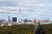 Day view of the central district of Berlin from an observation deck — Stock Photo