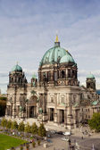 Beautiful day view of Berlin Cathedral (Berliner Dom) — Stock Photo