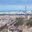 Aerial view of Paris — 图库照片