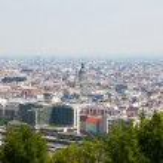 Panoramic view of Budapest — Stock Photo