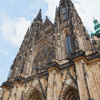 St. Vitus Cathedral in Prague, Czech Republic — Stock Photo #16274235
