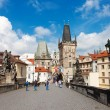 Stare Mesto (Old Town) view, Prague, Czech Republic — Stok fotoğraf