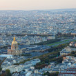 View of Paris from height of bird's flight — Stock Photo #16274503
