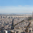 Stock Photo: View of Paris from height