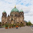 Berlin, Germany. Berlin cathedral the biggest Protestant church - Stock Photo