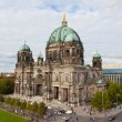 Day view of Berlin Cathedral (Berliner Dom) Berlin, Germany. Berlin cathedral  — Stock Photo