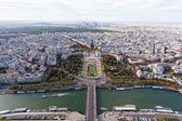 View of Paris from the Eiffel Tower — Stok fotoğraf