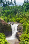 Tegenungan Waterfall is a beautiful waterfall located in plateau area and it is one of places of interest of Bali — Stock Photo