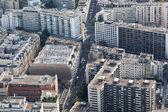 Luftbild von paris — Stockfoto