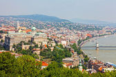 Panoramic view of Budapest — Stock Photo